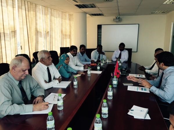 Project Kick-off: Minister Saeed meets e.Gen's international and national team at the project, March 2015
